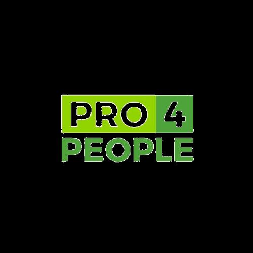 Pro4People logo.